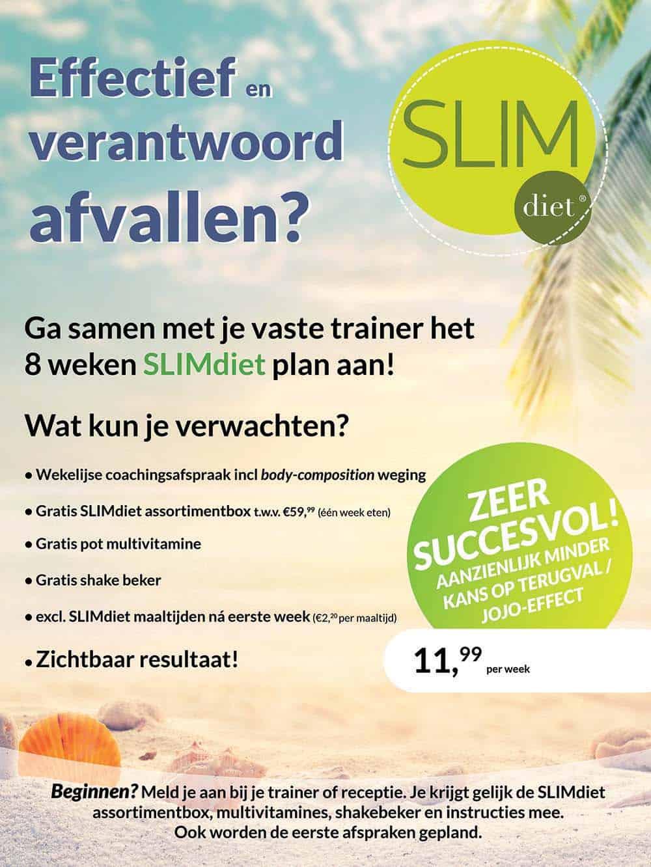 SLIMdiet Essink fitness afvallen Eindhoven